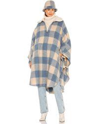Étoile Isabel Marant Куртка Gabin В Цвете Синий