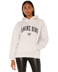 Anine Bing Harvey スウェットシャツ - グレー