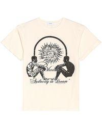 Rhude Interstellar Tシャツ - ナチュラル