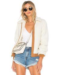 Lovers + Friends X Revolve Simone Faux Fur Jacket - White