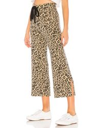 LNA Leopard Kismet Pant - Brown