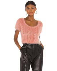 Tach Clothing Vivien Knit Top - Pink