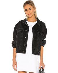 Agolde Charli Jacket. Size Xs. - Black