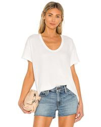 The Great U Neck Tシャツ - ホワイト