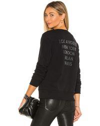 L'Agence Heidi スウェットシャツ - ブラック