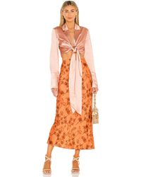Significant Other Maya Skirt - Orange