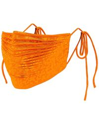 Significant Other Pleat Mask - Orange