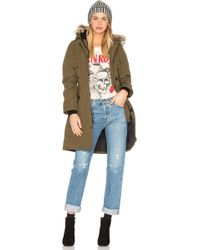 Canada Goose - Kensington Parka With Coyote Fur Trim - Lyst