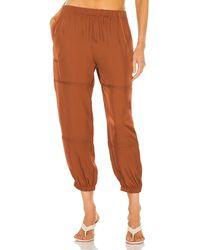 Theory Slim Cargo Pant - Brown