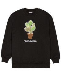 Pleasures Spoke Embroidered Crewneck - Black