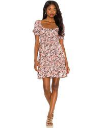 Maaji Ditsy Leah Short Dress - Pink