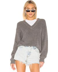 fd1c165de T By Alexander Wang Off The Shoulder Sweater With Inner Tank in ...