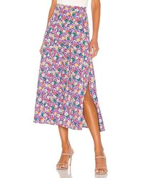 Faithfull The Brand Cuesta Midi Skirt - Multicolour