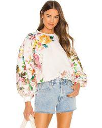 Hemant & Nandita X Revolve Floral Sweatshirt - Multicolour
