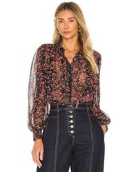 Ulla Johnson Edith Blouse - Blau