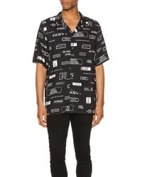 Ksubi ショートスリーブシャツ - ブラック