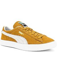 Puma Select Suede Vtg - Yellow