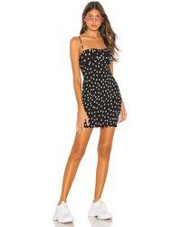 h:ours Bellah Mini Dress - Schwarz