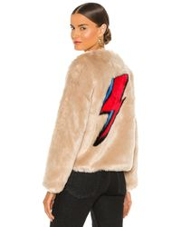 Unreal Fur Flash ジャケット - ナチュラル