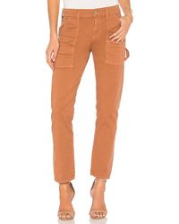Citizens of Humanity - Leah Cargo Pant In Burnt Orange - Lyst