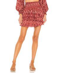 MINKPINK Neiki Tiered Mini Skirt - Multicolour