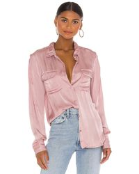 Young Fabulous & Broke Belle Top in Pink. Size S, M.