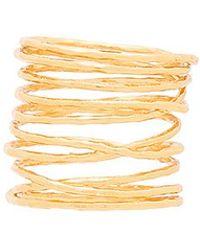 Gorjana - Lola Ring In Metallic Gold - Lyst