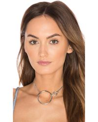 Five And Two - York Convertible Choker & Bracelet - Lyst