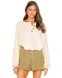 Free People - Melodi Henley Top - Lyst