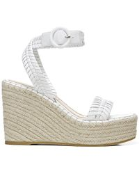Veronica Beard Rilla Wedge Sandal - Weiß