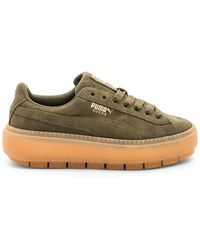 PUMA - Suede Platform Rugged Sneaker - Lyst