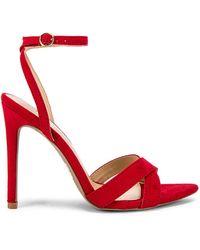 superdown Обувь На Каблуке Niecy В Цвете Красный - Red. Размер 7 (также В 8.5).