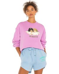 Fiorucci Factory Angels Sweatshirt - Purple