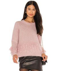 Cinq À Sept Izabella Sweater - Pink