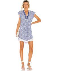 Poupette Sasha ドレス In Blue. Size L. - ブルー
