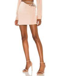 Nbd Mirrorball Mini Skirt - Multicolour