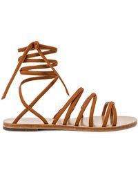 903ee4db6fb1 Lyst - RAYE Sadie Gladiator Sandal in Metallic