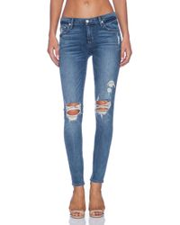 Lovers + Friends Ricky Skinny Jean - Blue