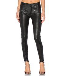 PAIGE - Edgemont Leather Pant - Lyst