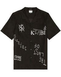 Ksubi Maniac Resort Ss Tシャツ - ブラック