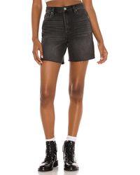 Blank NYC Abgeschnittene Shorts - Schwarz