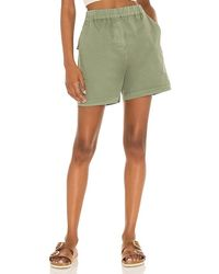 Pistola Beverly Drop Crotch Pull On Short - Green