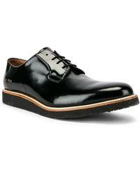 Common Projects Leather Derby シャイン - ブラック