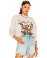 Anine Bing Tiger スウェットシャツ - グレー