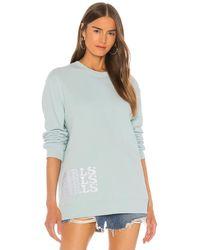 GRLFRND Gf スウェットシャツ - ブルー