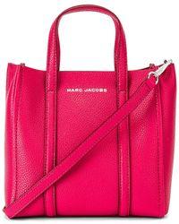 Marc Jacobs Сумка Тоут Mini В Цвете Бордовый Красный