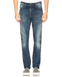 Nudie Jeans Джинсы Lean Dean В Цвете Lost Legend - Blue. Размер 28x32 (также В 30x32,31x32). - Синий