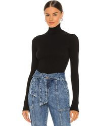 Anine Bing Clare Knit Top - Black
