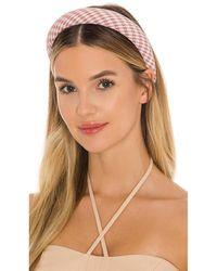 8 Other Reasons Gingham Headband - Pink