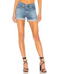 AG Jeans - High Waisted Hailey Short - Lyst